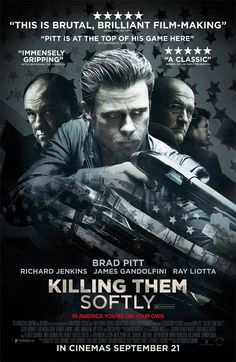 Nieuwe internationale poster Killing Them Softly