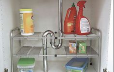 2-Tier Expandable Under the Sink Organizer, Adjustable by EW amazon.com
