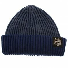 Stone Island Corrosive Ribbed Wool Knitted Hat. Shop now at www.themenswearsite.com/accessories-c28/headwear-c11/stone-island-corrosive-ribbed-wool-knitted-hat-p89342