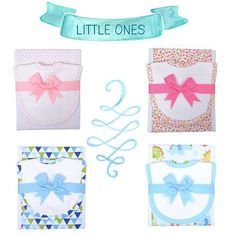 Aw, have you seen the sweetness going on at sembroidered.com? I bet you know a new mama that would love one of these gift sets!