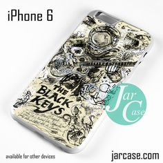 The Black Keys Arrt Cover Phone case for iPhone 6 and other iPhone devices