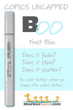 Copic Marker Ink Testing: How Copic Colors Behave for Better Blending — Marker Novice Copic Art, Copic Sketch, Alcohol Markers, Copic Markers, Blending Markers, Copic Colors, Sketch Markers, Marker Art, Digi Stamps