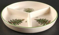 Spode CHRISTMAS TREE 3 Section Hors D'Oeuvre 10122244