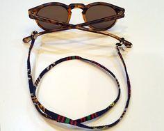 Cordón cuelga gafas CarloForte de LuciopiaShop en Etsy
