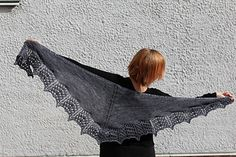 I designed this shawl at a difficult time in my life. While knitting the shawl I realized that after all I was stronger than I could have ever imagined. The shawl is named after David Guetta's and Sia's song Titanium. Knitting Kits, Lace Knitting, Knitting Patterns Free, Crochet Patterns, Knitting Ideas, Free Pattern, Cowl Patterns, Knitted Shawls, Crochet Scarves