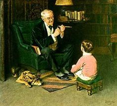 You're A Lucky Lad…    -   Norman Rockwell