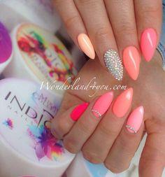 by Daria Michalska Follow us on Pinterest. Find more inspiration at www.indigo-nails.com #colours #nailart #nails #spring