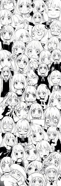 Spy x family Anya Otaku Anime, Manga Anime, Anime Art, Animes Wallpapers, Cute Wallpapers, Look Wallpaper, Manga Collection, Manhwa Manga, Anime Characters