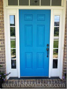 Blue Mosque Front Door