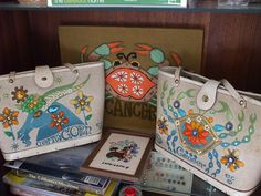 Capricorn + Cancer Enid Collins bags!
