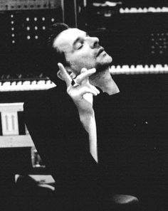 Dave Gahan in the studio