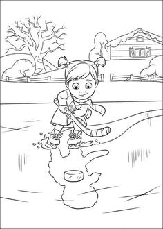 Inside Out Coloring Pages 3