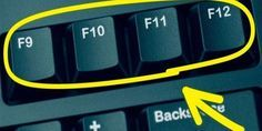 Sai a cosa servono i tasti sulla tastiera del computer? Computer Help, Best Computer, Computer Keyboard, Computer Tips, Keyboard Shortcuts, Phone Hacks, Tips & Tricks, Microsoft Excel, Helpful Hints
