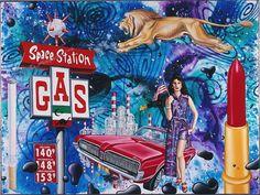 History of Art: Kenny Scharf - Cosmic Crude Sculpture Art, Sculptures, James Rosenquist, Kenny Scharf, Claes Oldenburg, Bad Art, Jasper Johns, Art Thou, Pop Surrealism