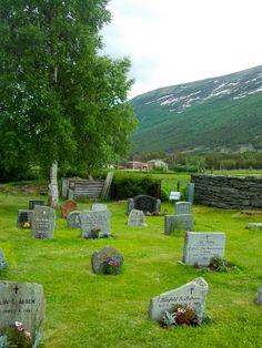 Skjaak, Norway | Beauty in the graveyard graveyard outside the church