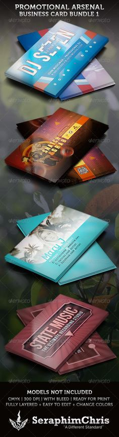 Promotional Arsenal Business Card Bundle 1