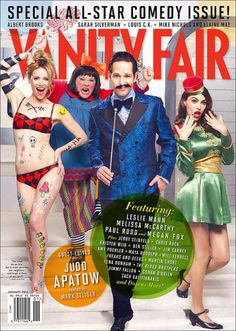 Vanity Fair All Star Comedy Issue 2013!
