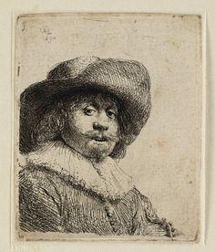 Mijn favoriete Rembrandt in Teylers Museum: Man met breedgerande hoed (B311)