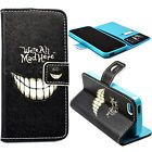 Magnet Flip Stand PU Leather Card Pouch Hold Cover Case For Apple iPhone 5 5S SE