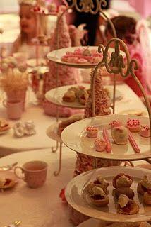 pink fairy tea party