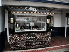 Grange Park Coffee kiosk