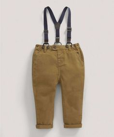 £16 Boys Limited Edition Chino and Braces Set - NEW Arrivals - Mamas & Papas