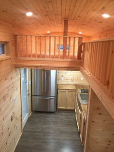 Many floor plans are available, but we find most buyers want a custom tiny house. We will collaborate with you to build the tiny home of your dreams! Tiny House Big Living, Shed To Tiny House, Tiny House Loft, Tiny House On Wheels, Storage Building Homes, Building A House, Portable Tiny Houses, Cabin Homes, Tiny Homes