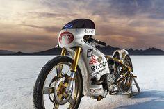 Russian Rocket - FCM Landspeed Ural ~ Return of the Cafe Racers Russian Motorcycle, Ural Motorcycle, Cafe Racer Motorcycle, Custom Motorcycles, Custom Bikes, Speed Racer, Cool Bikes, Motorbikes, Cafe Racers