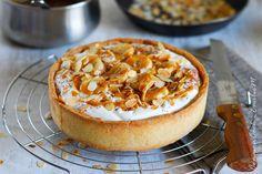 Banofee pie (tarte banane, caramel, chantilly)