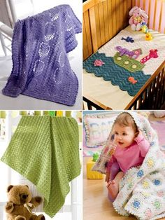 Crochet Patterns Snuggly Baby Blankets for Boys, Girls and Gender Neutral Designs Baby Afghan Patterns, Baby Afghan Crochet, Granny Square Crochet Pattern, Baby Afghans, Crochet Squares, Crochet Blanket Patterns, Baby Blankets, Hand Crochet, Granny Squares