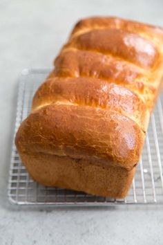 How to make Brioche Loaf Bread recipe from RecipeGirl.com #how #to #howto #make #howtomake #diy #brioche #sandwich #loaf #bread #recipe #RecipeGirl Brioche Loaf, Brioche Recipe, Loaf Bread Recipe, Banana Bread Recipes, Cake Recipes, Yeast Bread, Bread Baking, Quick Bread, How To Make Bread