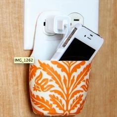 Mobile charger holder