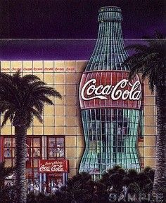 Atlanta, Georgia. I loved going to the Coca Cola Factory when we took a trip here to visit my bro in law