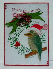 Hello I have some real Aussie themed Christmas cards to share with you today. All products are from Kaszazz. The same products have been . Christmas Decorations Australian, Australian Christmas Cards, Aussie Christmas, Christmas Picks, Christmas Cards To Make, Xmas Cards, Christmas Greetings, Handmade Christmas, Holiday Cards