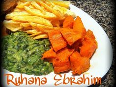 Creamed Spinach & Butternut