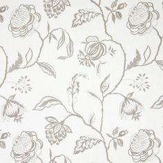 Lahini Natural 64% viscose/ 27% linen/ 9% polyester 145cm (useable 130cm) | 47.5cm Embroidery Lounge Curtains, Stuart Graham, Prestigious Textiles, Curtain Fabric, Damask, Digital Prints, Jewels, Embroidery, Nature
