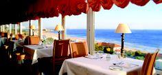 Restaurant overlooking the sea at Hotel Praia Mar, Carcavelos by Thema Hotels, Lisbon Region, Portugal