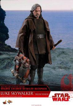 Hot Toys Star Wars TLJ Luke Skywalker MMS458 Brown Jacket loose 1//6th scale