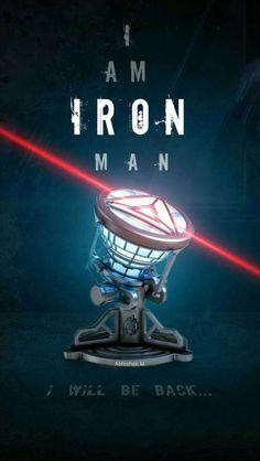 Iron Man New Element Arc Reactor Mark IV IPhone Wallpaper - IPhone Wallpapers