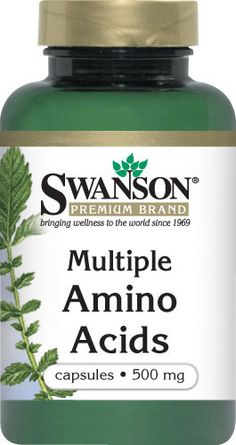 Swanson Premium Multiple Amino Acids for Muscle Building and Protein Supplementation  $18.95  Retail Price: $20.95   You Save: $2.00 (10%) Item No: 257021  Servings Per Container  Alanine 30 mg Lysine 76 mg  Arginine 36 mg Methionine 28 mg  Aspartic Acid 68 mg Phenylalanine 50 mg  Cystine/Cysteine 4 mg Proline 104 mg  Glutamic Acid 208 mg Serine 58 mg  Glycine 18 mg Threonine 42 mg  Histidine 18 mg Tryptophan 22 mg  Isoleucine 46 mg Tyrosine 54 mg  Leucine 90 mg Valine 56 mg