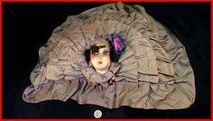 poupée de salon boudoir coussin d'époque art déco tête tissus in Art, antiquités, Meubles, décoration, XXème, Art déco, Autres   eBay