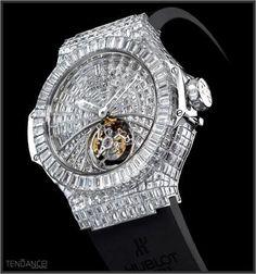 Hublot Diamond Watch                                                                                                                                                                                 More