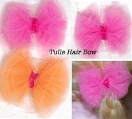 Tulle Hairbows