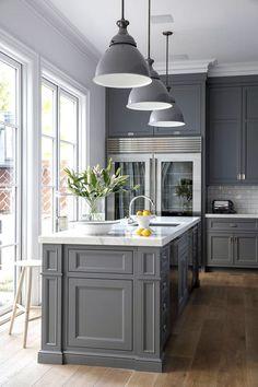 New Landhaus Einbauk che Scheffau Magnolie K chen Quelle K che Pinterest Modern country kitchens Modern country and Kitchens
