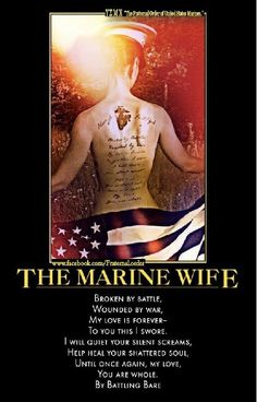 Marine Wife! Pin now embrace later