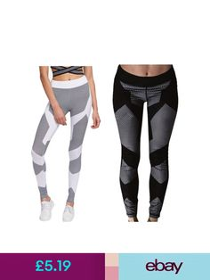 57f1f5847 Activewear Plus Size Womens Fitness Gym Printing Leggings Stretchy Gym  Jogging Long Pants