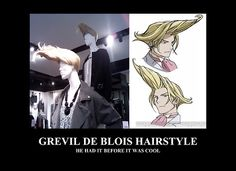 Gosick hair style