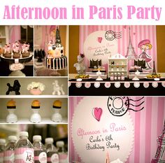 Party Feature: Afternoon in Paris Party - Pretty My Party