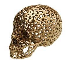$39.95 in stock on Etsy:  https:www.etsy.com/shop/3DPrintedSkull in brass…