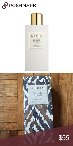 Aerin Tangier Vanille Body Wash New in box! Aerin Tangier Vanille Body Wash - luxurious body wash refreshes the skin, leaves skin with hints of warm vanilla and velvety amber, full size (7.6 fl oz) AERIN Other